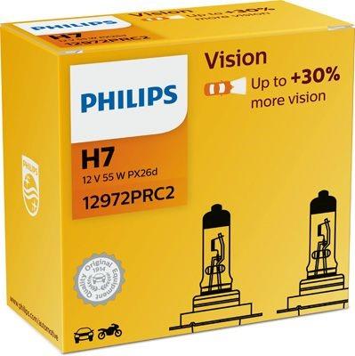 Philips VISION 12972PRC2 H7 PX26d 55W 12V
