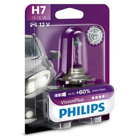 Philips VisionPlus 12972VPB1 H7 PX26d 12V 55W