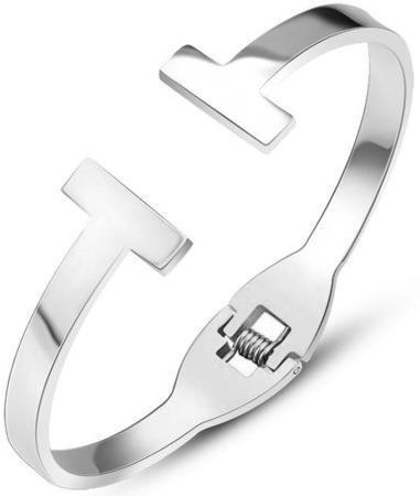 Troli Luxusní ocelový náramek pro ženy