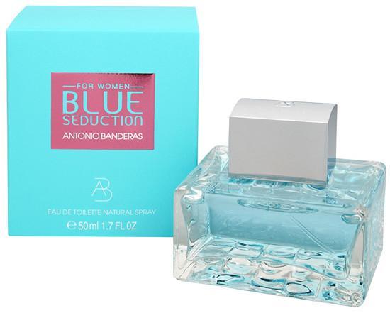 Toaletní voda Antonio Banderas - Blue Seduction For Women , 50ml