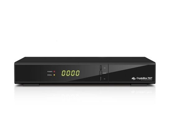 AB Cryptobox 702T DVB-T2 přijímač