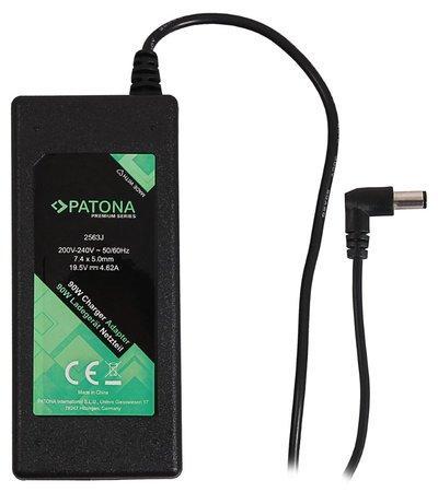 PATONA napájecí adaptér k ntb/ 19,5V/4,62A 90W/ konektor 7,4x5mm+pin/ DELL PREMIUM, PT2563
