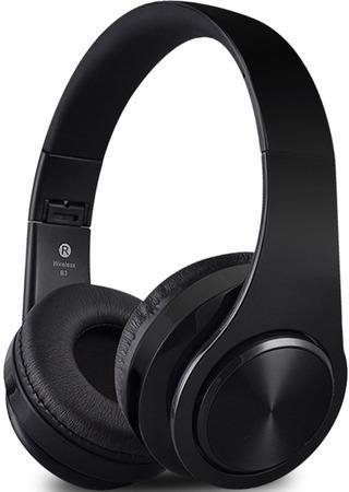Bezdrátová sluchátka S5, černé