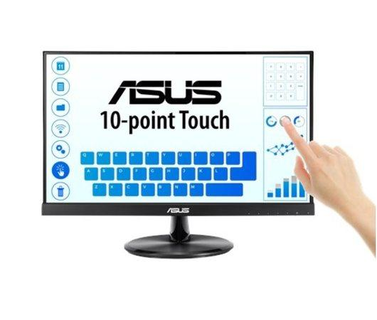 "ASUS MT dotekový display 21.5"" VT229H Touch 1920x1080, lesklý, D-SUB, HDMI, 10-point Touch, IPS, Frameless, USB"