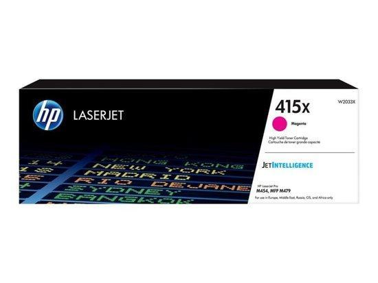 HP 415X Magenta LaserJet Toner Cartridge, W2033X, W2033X