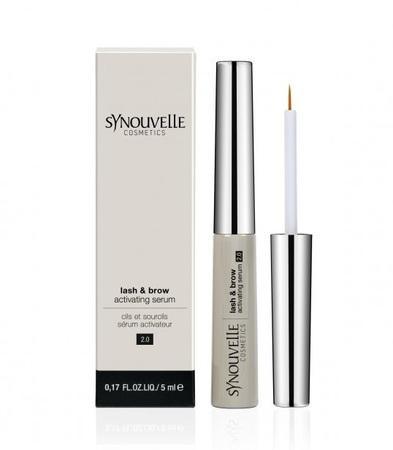 Synouvelle Cosmeceuticals Růstové sérum na řasy a obočí extra citlivé Sensitive 5 ml