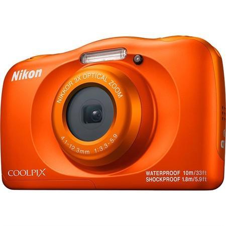 Fotoaparát Nikon Coolpix W150 BACKPACK KIT, oranžový