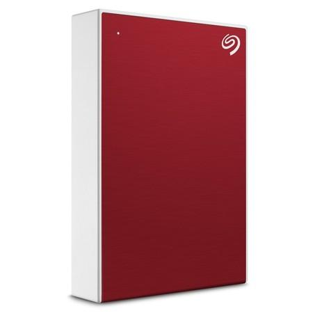 Seagate Backup Plus Portable - externí HDD 2.5`` 4TB, USB 3.0, červený, STHP4000403