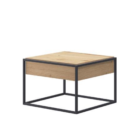 Tempo Kondela Konferenční stolek, dub artisan / černá, SPRING EL60