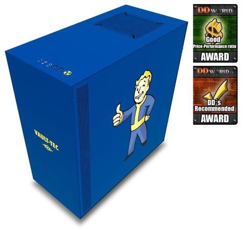 NZXT skříň H500 Vault Boy / ATX / MidTower/ průhledná bočnice / 2x USB 3.0, CA-H500B-VB