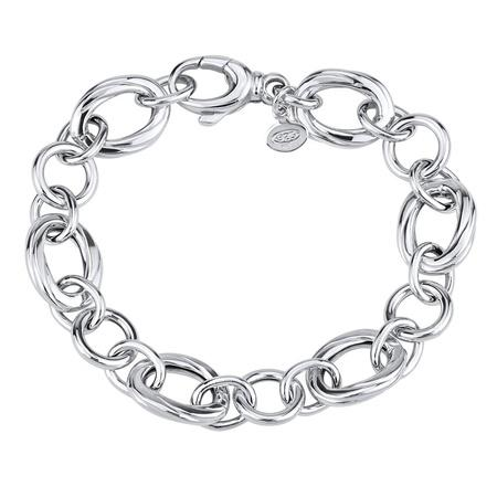 Stříbrný náramek pro ženy MALANI-20 cm, 20