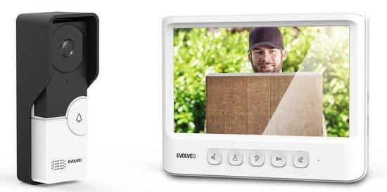 EVOLVEO DOORPHONE IK06 set video dveřního telefonu s pamětí a barevným displejem