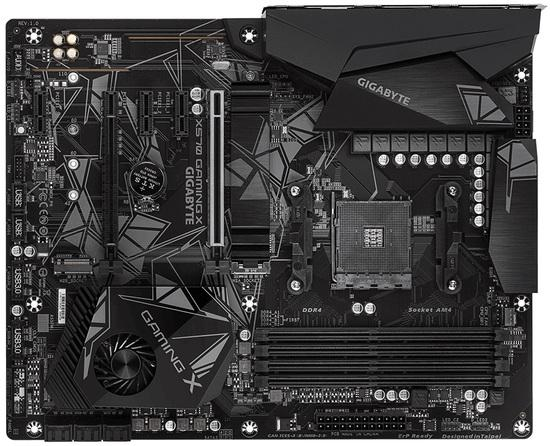 Gigabyte X570 GAMING X, AMD X570, DDR4, 2 x M.2 Socket 3, 6 x SATA 6Gb/s, X570 GAMING X