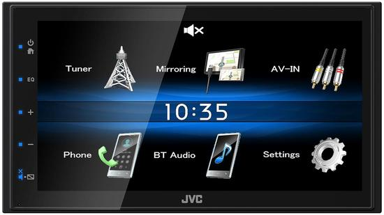 JVC KW-M25BT 2DIN AUTORÁDIO BT/USB/MP3