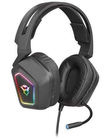 TRUST Sluchátka s mikrofonem GXT 450 Blizz RGB 7.1 Surround Gaming Headset