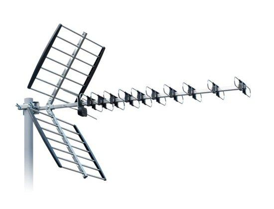 ISKRA DVB-T anténa DTX-48F FCL+ LTE + GSM filtr s F konektorem 11 - 16 dB