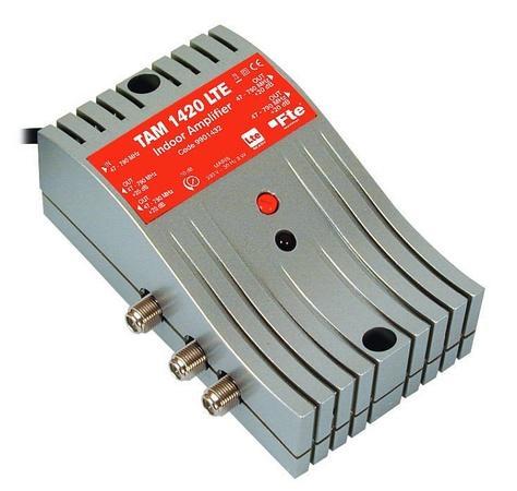 FTE linkový zesilovač TAM 1420 LTE, s regulací zisku, 4x výstup
