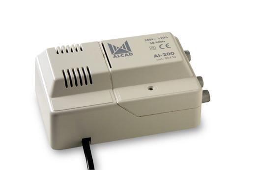 anténní zesilovač ALCAD AI-200 1x vstup - 2x výstup linkový
