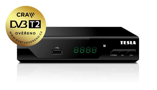 TE 310 DVB-T2 HEVC PŘIJÍMAČ TESLA