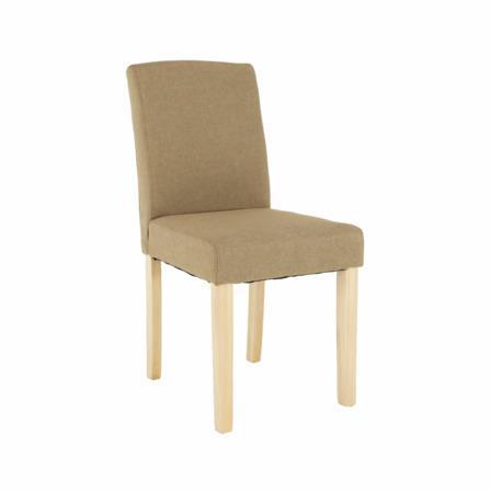 Tempo Kondela Jídelní židle, béžová/buk, SELUNA
