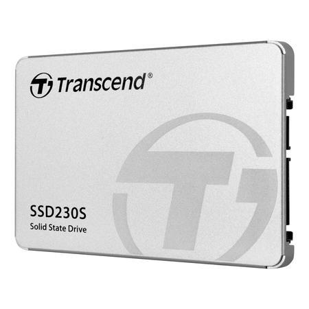 Transcend SSD230S, 2TB, 2.5``, SATA3(560/520 MB/s), 3D, Aluminum case, TS2TSSD230S