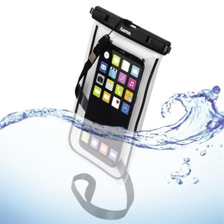 Hama Playa Outdoor Bag for Smartphones, Size XXL, black