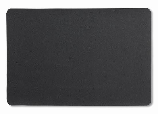 Prostírání KIMARA koženka černá 45x30cm