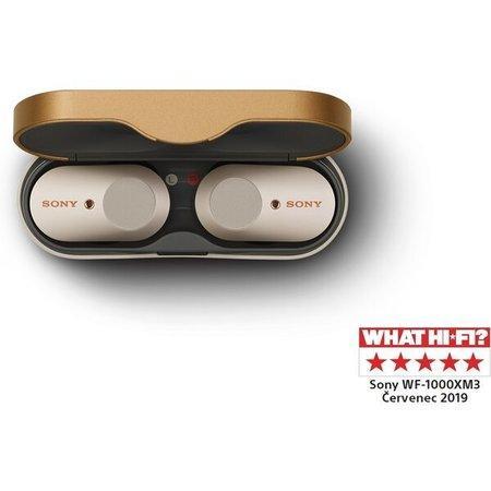 Sluchátka Sony WF-1000XM3 - stříbrná