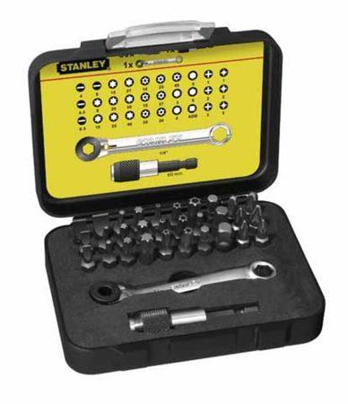 STANLEY 1-13-905 Sada bitů 32dílná s ráčnovým klíčem