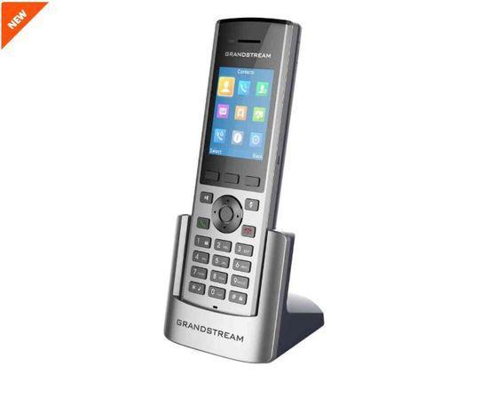 "Grandstream DP730 IP tel., 2,4"" bar. displ., 2SIP úč., video, BT, Micro USB, HAC, Push-to-talk, DP730"