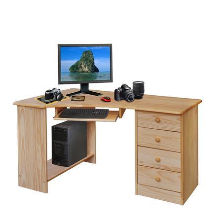 IDEA nábytek PC stůl rohový 8846 lakovaný