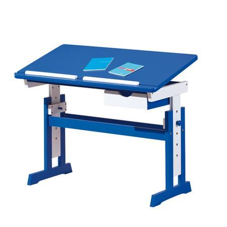 IDEA nábytek PACO psací stůl modro/bílý