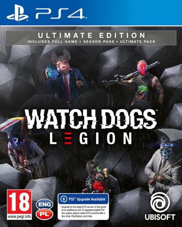 PS4 - Watch Dogs Legion Ultimate Edition