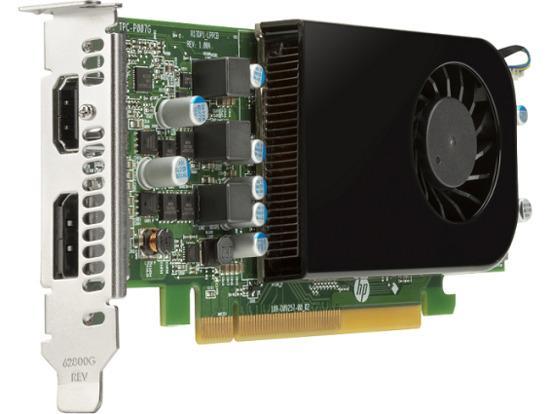 HPAMD Radeon RX 550X 4GB LP DP, HDMI PCIe x16 Card, 5LH79AA