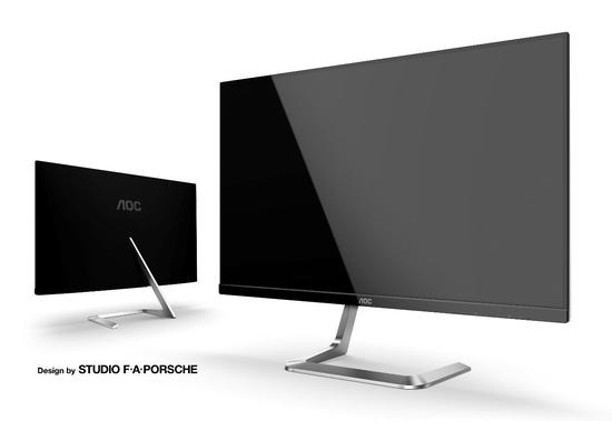 "AOC MT IPS LCD WLED 27"" Q27T1 - IPS panel, 2560x1440, 350cd, 50M:1, 2xHDMI, DP, porsche design, Q27T1"