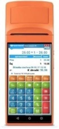 SUNMI EET-POS V1s - mobilní EET terminál s tiskárnou, SUNMI-EET-POS