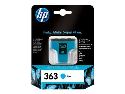 Inkoust HP Ink No 363 azurová, C8771EE, C8771EE