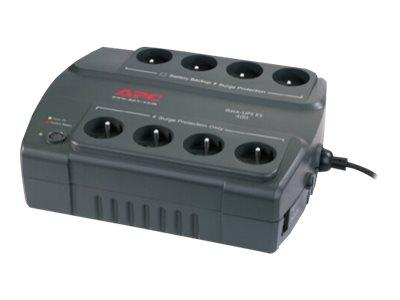 APC CyberFort / Back-UPS ES 400VA, bez SW - bez komunikace, české zásuvky, BE400-FR