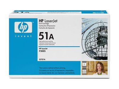 Toner HP Q7551A černý (6500str./5%)