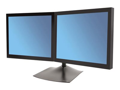DS100 Dual-Monitor Desk Stand Horizontal
