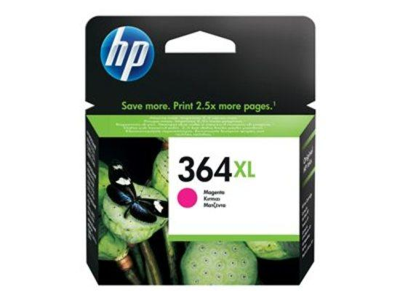 HP 364XL Magenta Ink Cartridge with Vivera Ink, HP 364XL Magenta Ink Cartridge with Vivera Ink, CB324EE#BA1