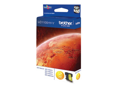 Inkoust Brother Ink LC-1100HYY yellow