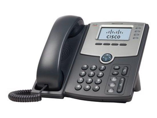 Cisco SPA504G - IP telefon, 4 linky, PoE, LCD displej, SPA504G