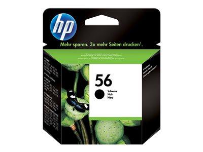 HP No. 56 Print Cadrigde, black, HP No. 56 Print Cadrigde, black, C6656AE#UUS