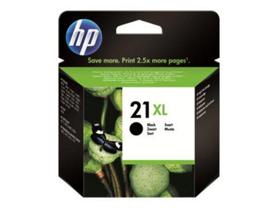 HP 21XL Black Inkjet Print Cartridge, HP 21XL Black Inkjet Print Cartridge, C9351CE#UUS