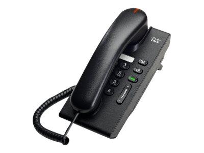 Cisco UC Phone 6901, Charcoal, Standard handset, CP-6901-C-K9=