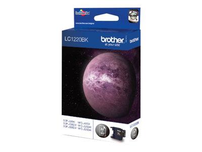 Brother LC-1220BK - originální, LC1220BK