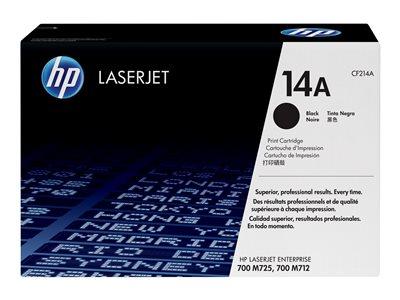 HP černý toner CF214A originál