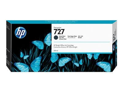HP cartridge C1Q12A (727) černá matná pro DesignJet - 300ml, C1Q12A