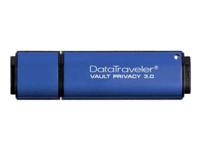 Kingston DataTraveler Vault Privacy 3.0 16GB DTVP30/16GB, DTVP30/16GB